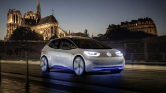 Volkswagens samarbejde med UEFA skal bl.a. være kommunikationsplatform for mærkets nye elbil: I.D.