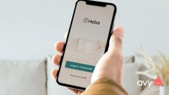Heba skriver avtal med Avy om boendeapp för ökad service till hyresgästerna