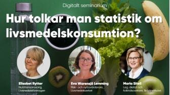 Inbjudan till journalistseminarium: Hur tolkar man statistik? Och, vilka är de vanligaste fallgroparna?