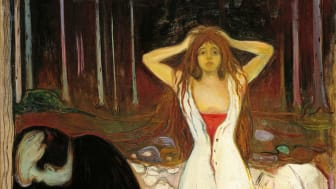 "Edvard Munch, ""Ashes"", Prob. 1894."