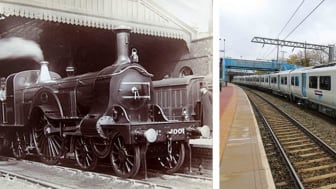 From locomotive steam trains to electric class 387s, 700s and 717s – lots has changed since 1850 but the Great Northern route remains the same