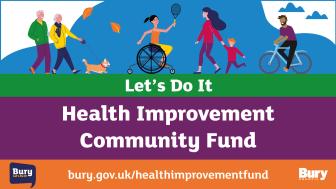 Let's Do It Health Improvement Community Fund open now