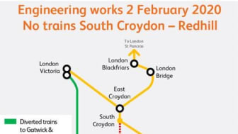 Check before you travel this Sunday due to engineering work on the Brighton Main Line