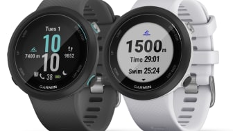 Garmin Swim™ 2, en smartwatch med GPS och pulsmätning vid handleden som även mäter under vatten