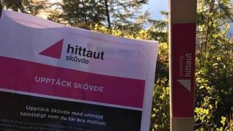 Den populära aktiviteten hittaut kommer tillbaka till Skövde våren 2020. Foto: Lotta Stigsdotter
