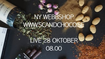 Scandchoco lanserar ny hemsida!