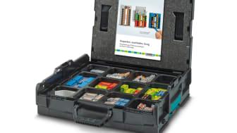 Systempaketet CASE PTFIX L-BOXX DE från Phoenix Contact.
