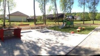 Ny lekplats i Ulriksdal invigs