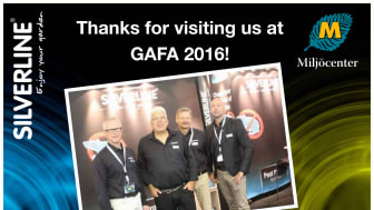 Thanks for visiting us at GAFA 2016!