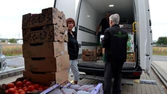 I forbindelse med årets DHL Stafet i Odense bliver det muligt at donere sin madboks til organisationen FødevareBanken, der bekæmper madspild.