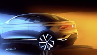 Volkswagen introducere i 2020 en cabriolet baseret på T-Roc