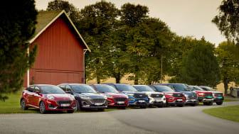 Flere Ford-modeller 2020 Norge