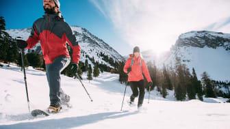 Zugeschnitten auf die Bewegung und Dynamik der Wintersport-Wanderfreunde