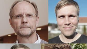 Anders Larsson, André Kelkkanen, Johan Gustavsson och Erik Haglund