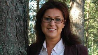 Linda Lejderud, Alnö, valdes till ny ledamot i Norrmejeriers styrelse 2 juni 2020.