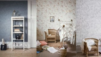 Newbie launches wallpaper and bedclothes