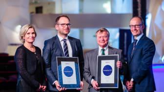 Enovaprisen 2018 Orvik og Johannson