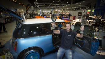 Best in Show Streetcar gick till Carl Robert Evensen i Ski, Norge, med sin Mini Cooper S R53 2004.