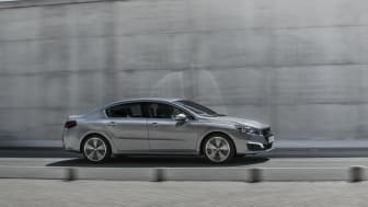 Sverigepremiär för sportigt eleganta Peugeot 508