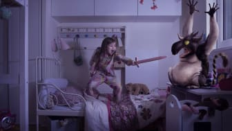 About half of all children aged 4-8 years have nightmares that affect their will and ability to sleep. To solve the problem Martina Eriksson developed Dream Play, a monster trap consisting of a digital and physical product.