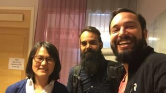 Lili Jiang, Jaime Reyes & Randy Cottin är teamet bakom Loogup – en av idéerna på Venture Cups Topp 20-lista.
