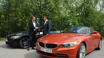 BMW Group Northern Europe sluter bilvärmeavtal med KG Knutsson AB värt 20 miljoner kronor
