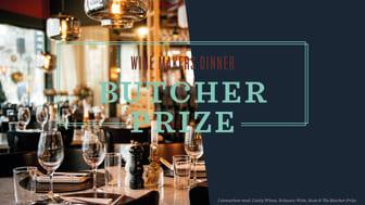 Wine Makers Dinner på Kitchen & Table Kungsholmen tillsammans med The Butcher Prize den 13 maj.