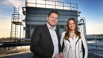 Nicholas Pettersson, Dagab, och Jenny Larsson, Vattenfall