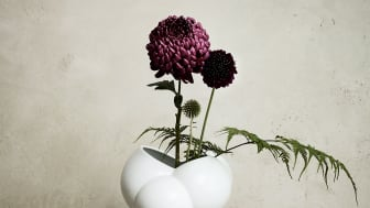 "Derived from the Danish word for foam: the new Rosenthal vase ""Skum""."