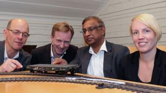 Färre tågförseningar och effektivare järnväg med ny forskning