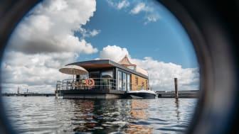 Neue schwimmende Häuser im Lausitzer Seenland C FHG Floating House GmbH