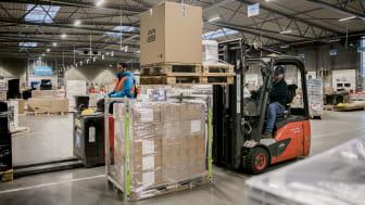 PostNord kan spare hver 8. lastbil væk med SpaceInvader løsningen. Det svarer til en CO2 og NOx besparelse på 12,87% og det samme sparet i transportomkostninger.