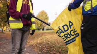 Under Fimpkampen kommer ungdomsidrotten att göra en insats för ett renare Göteborg. Foto: Städa Sverige