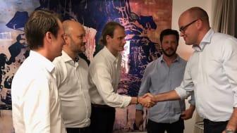 AB Karl Ekesiöö Bygghandel och Beijer Bygghandel ingår avtal om förvärv.