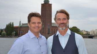 Per Österborg och Johan Rydell, Key Account Managers på Nokas Security.