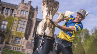 Ferry Svan på Tjolöholms Slott inför Champions Trophy den 25 maj. Foto: STIHL TIMBERSPORTS®