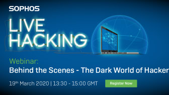 Live Hacking Webinar: Behind the Scenes – The Dark World of Hackers