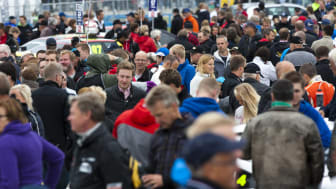 Publiksuccé för STCC Airport Race i Östersund