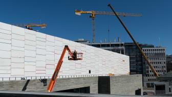 Statsbyggs byggeprosjekt er forsinket og det nye Nasjonalmuseet åpner derfor først i 2022. (Foto: Annar Bjørgli / Nasjonalmuseet)