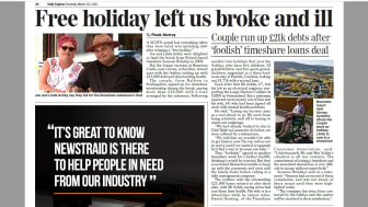 Daily Express report on Season timeshare victims