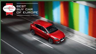 """Seat Leon er kåret som """"det bedste bilkøb i Europa 2021""""."""