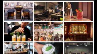 Bank Hotel, Papillon, Tyge & Sessil och Asian Post Office med på White Guides Hotel+Bar lista 2019