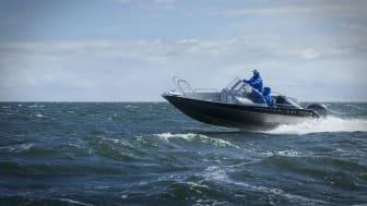 Ryska båttillverkare storsatsar på Allt för sjön 2020. På bilden en M571 från MasterBoats.
