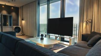 LG Electronics samarbetar med välrenommerade Hotel At Six i Stockholm och inreder nya lyxsviten LG SIGNATURE SUITE