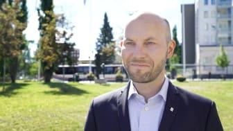 """Den 17 juni klubbades den nya strategiska planen igenom i kommunfullmäktige i Boden. """"Vi arbetar stadigt vidare för att uppnå målet om att bli 30 000 invånare i Bodens kommun"""", säger Claes Nordmark (S), kommunalråd."""