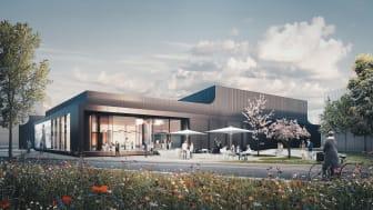 Schüco Welcome Forum beräknas stå klart i början av 2021
