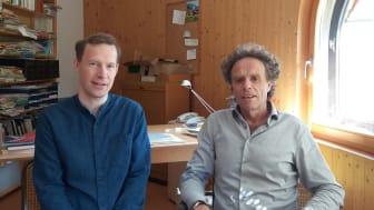 Neue Leitung der Naturwissenschaftlichen Sektion am Goetheanum: Matthias Rang und Johannes Wirz (Foto: Naturwissenschaftliche Sektion)