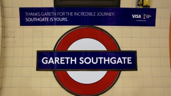 'Alight here for Gareth Southgate' – iconic Tube station renamed in celebration of England football team