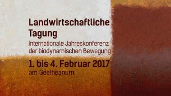 Plakat zur internationalen Konferenz ‹Bodenfruchtbarkeit› der Sektion für Landwirtschaft am Goetheanum (Pigmentbild von Christian Kessler)