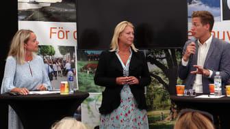 Karolina Losell, Roslagens Sparbank, Catharina Elmsäter Svärd, Sveriges Byggindustrier och Emil Källström Centerpartiet.